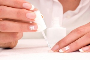 French Nails step by step