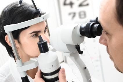 Scharfe Augen Laser-OP